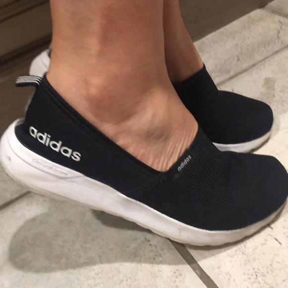 3b5858d11f9e6 adidas Shoes - Adidas women cloudfoam lite slip on shoes